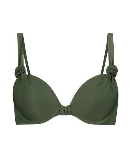 Top de bikini push-up Luxe Copa A - E, Verde