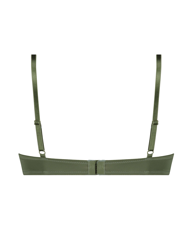 Sujetador de aros preformado Plunge, Verde, main