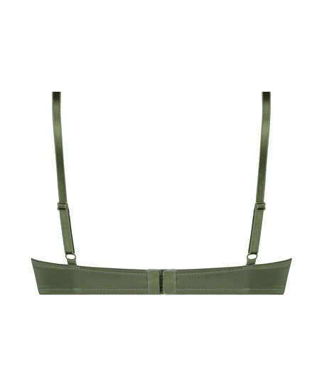 Sujetador de aros preformado Plunge, Verde