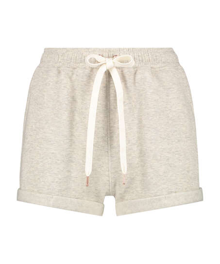 Pantalones cortos Sweat Brushed, Beige