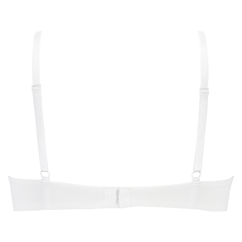 Sujetador de aros preformado Plunge, Blanco, main