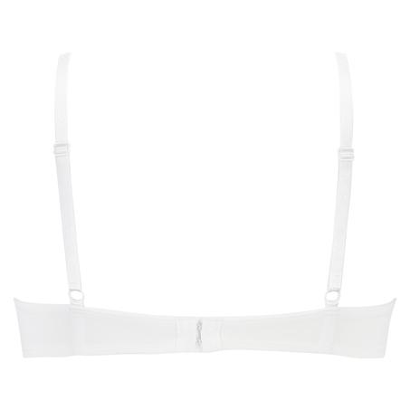 Sujetador de aros preformado Plunge, Blanco