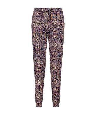 Pantalón de pijama Jersey, Azul