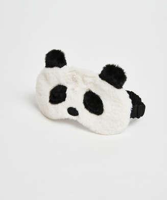 Antifaz Cute Panda, Blanco
