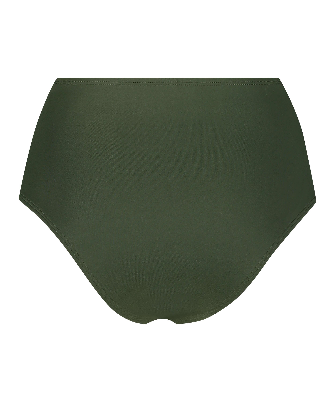 Braguita de bikini de corte alto Luxe, Verde, main