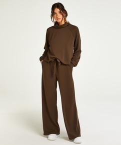Pantalones de pierna ancha, Verde