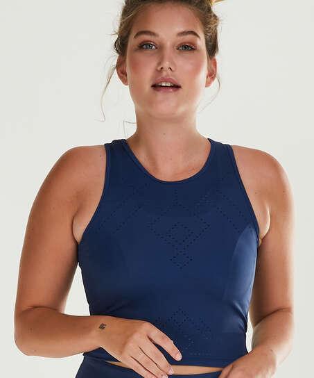 HKMX Camiseta de deporte sin mangas Naira, Azul
