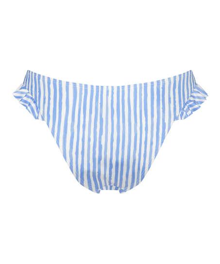 Braguita de bikini de corte alto Julia, Azul