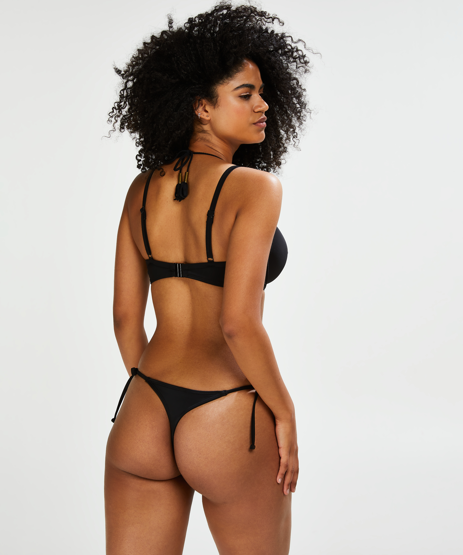 Tanga de bikini Sunset Dream, Negro, main