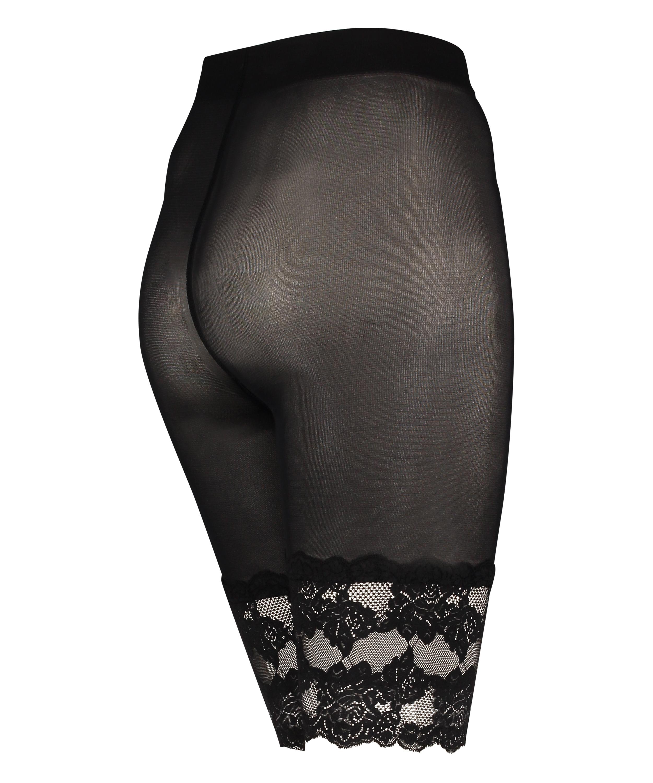 Pantalones cortos de encaje Anti Chafing, Negro, main