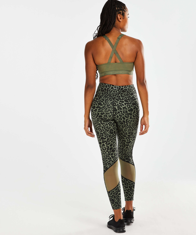HKMX Mallas de cintura alta Oh My Squat , Verde, main
