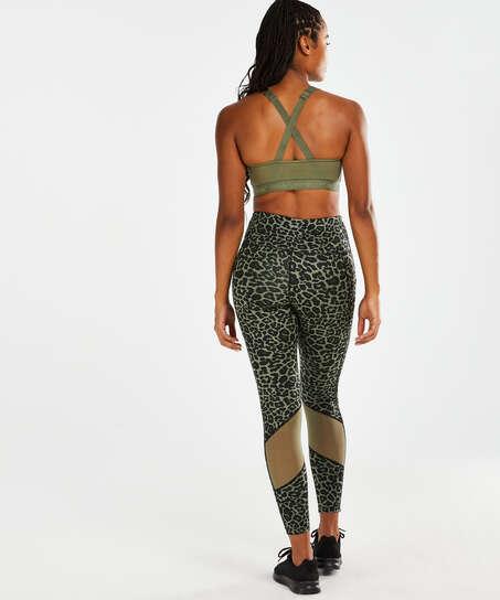 HKMX Mallas de cintura alta Oh My Squat , Verde