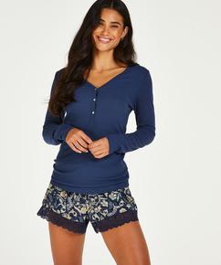 Pantalones cortos Jersey , Azul