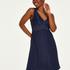 Vestido lencero Nora Lace, Azul