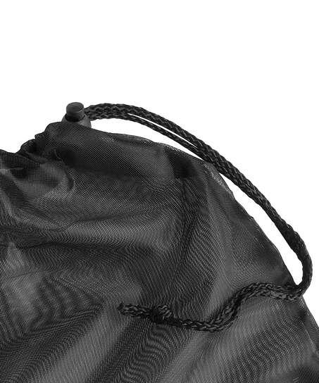 Bolsa para el lavado prendas delicadas cordón, Negro