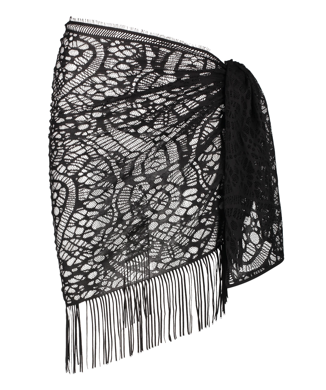 Pareo Crochet, Negro, main