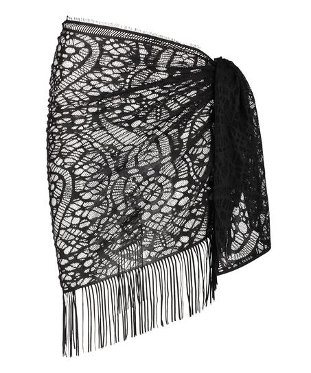 Pareo Crochet, Negro