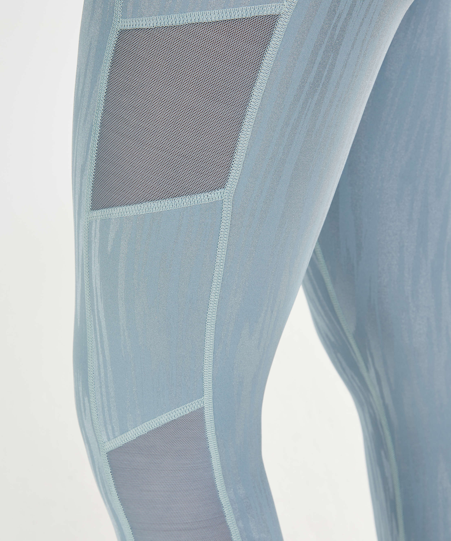 Leggings deportivos de cintura alta HKMX Mojave, Azul, main