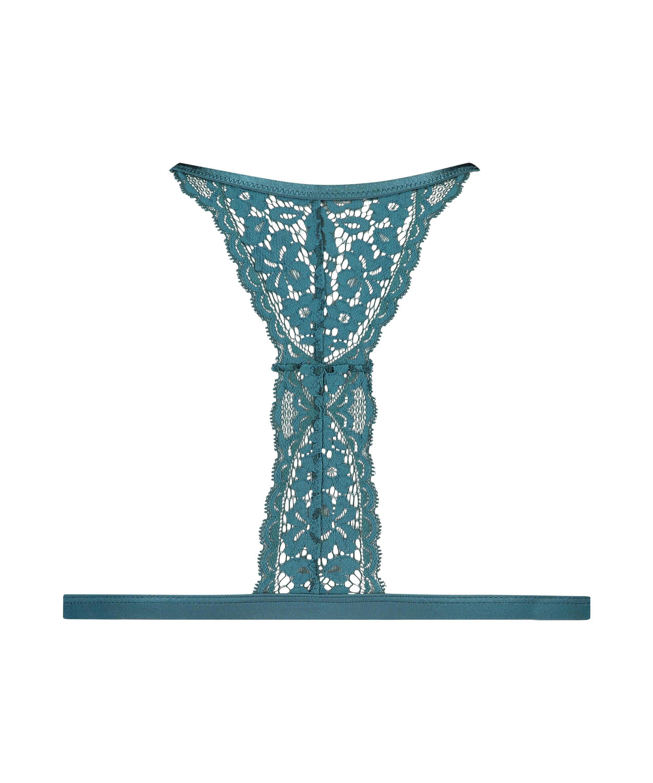 Bralette triangular preformado Rose, Azul, main