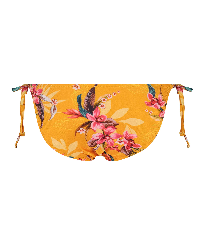Tanga de bikini brasileña Orchid, Amarillo, main