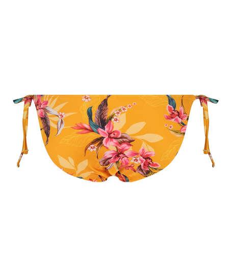 Tanga de bikini brasileña Orchid, Amarillo