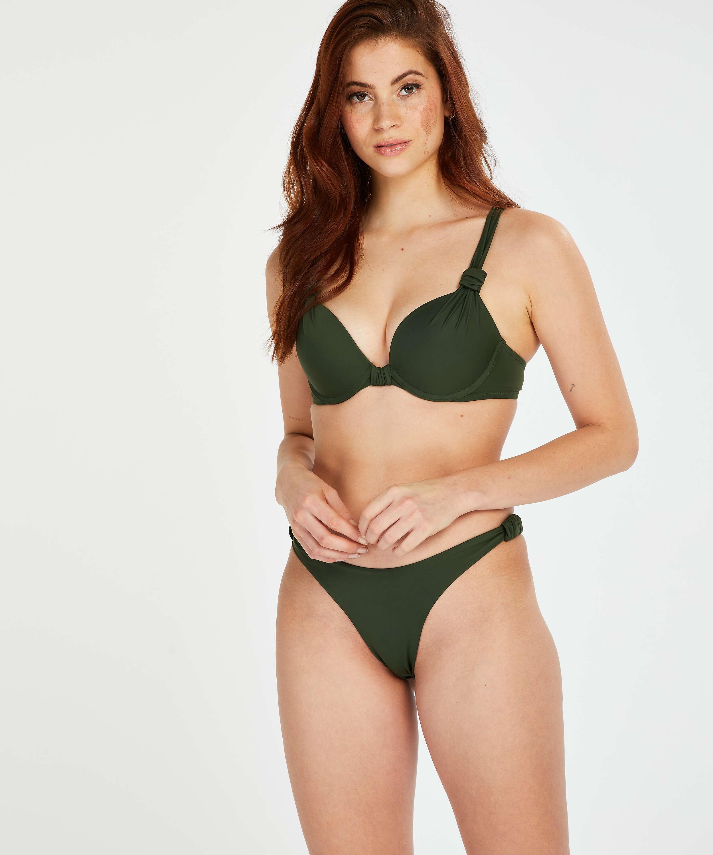 Top de bikini push-up Luxe Copa A - E, Verde, main