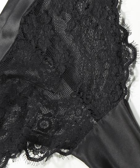 Braguita brasileña de corte alto Celeste, Negro