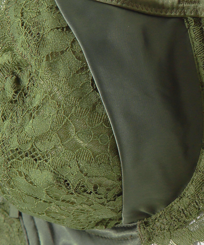 Sujetador de aros no preformado Hannako, Verde, main