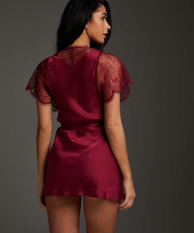 Kimono Cap Sleeve, Rojo, main