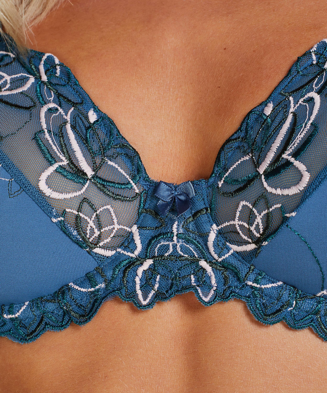 Sujetador con aros no preformado Diva, Azul, main