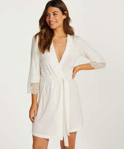 Kimono Vera Lace, Blanco