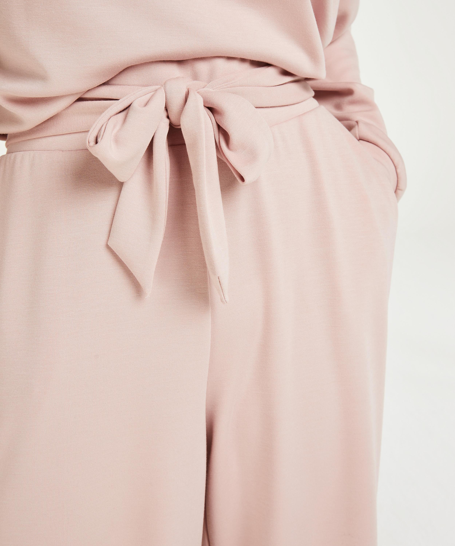Pantalones de pierna ancha, Morado, main