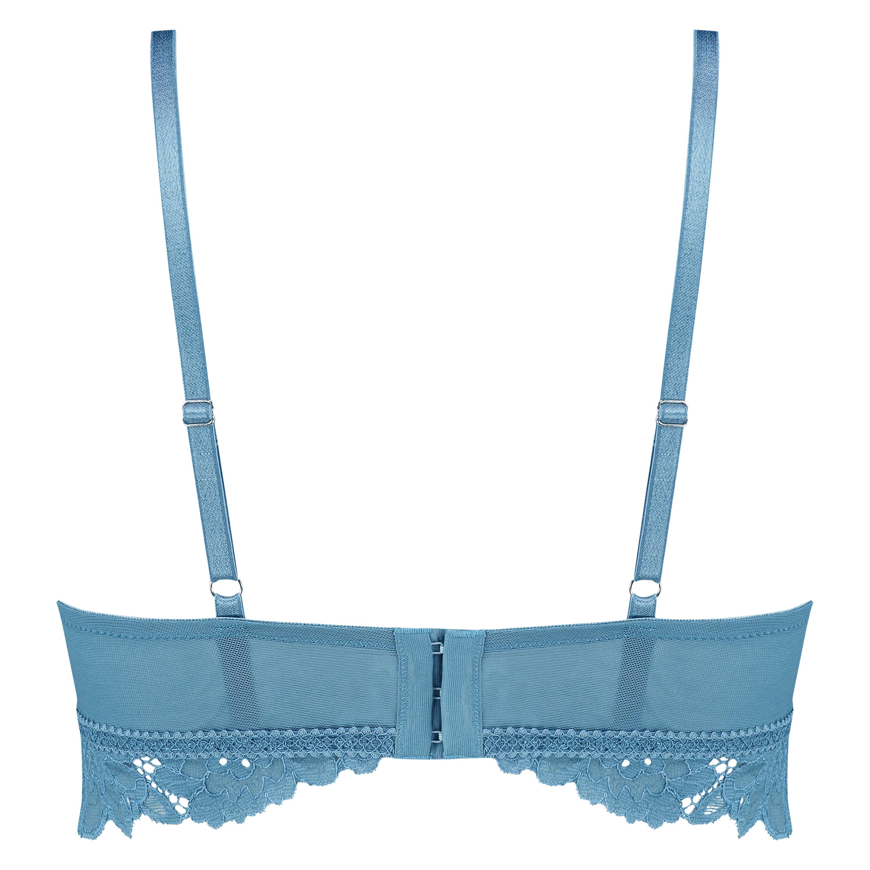 Sujetador preformado sin aros longline Shiloh, Azul, main