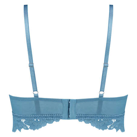 Sujetador preformado sin aros longline Shiloh, Azul