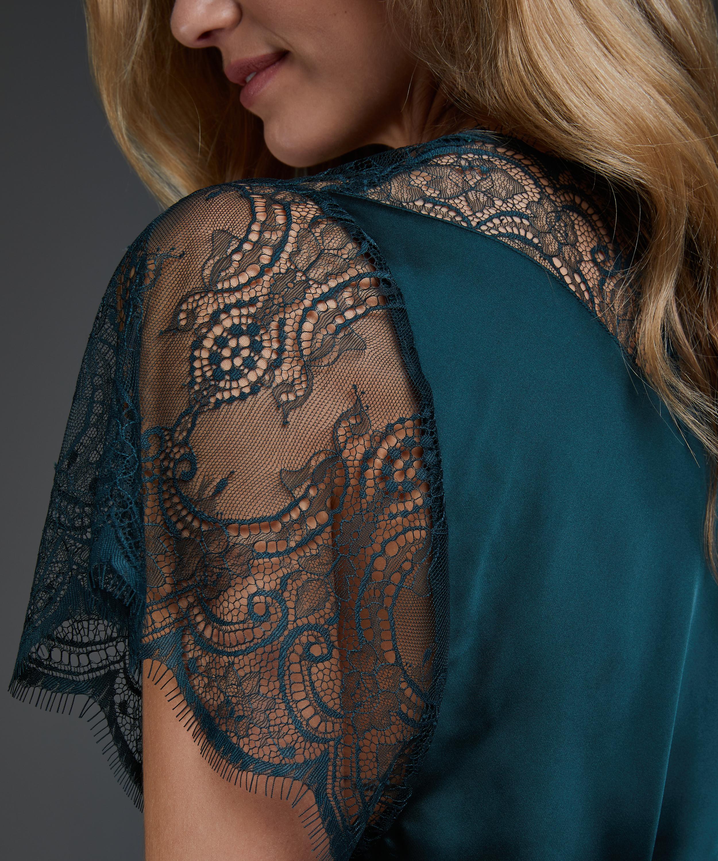 Kimono Cap Sleeve, Verde, main