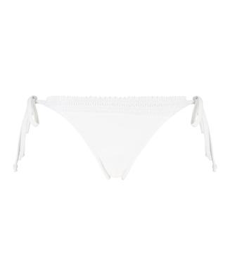 Braguita de bikini tanga Maldivas, Blanco