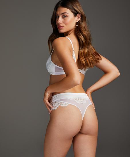 Bralette Hannako, Blanco