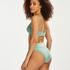 Braguita de bikini alta Sienna, Verde