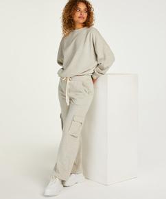 Petite Pantalones de chándal Cargo, Beige