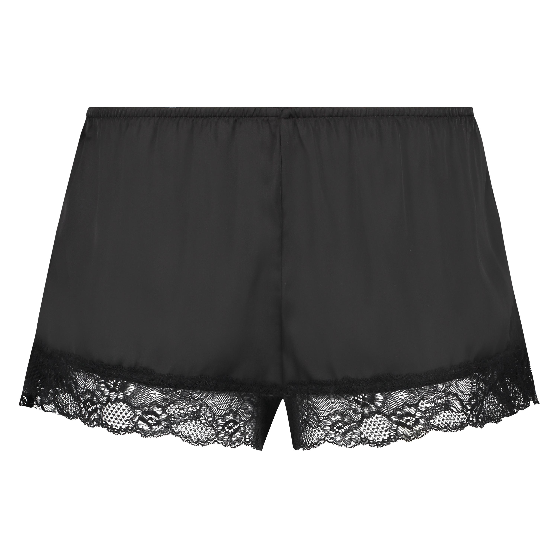 Pantalón de pijama Satin, Negro, main