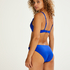 Top de bikini push-up Luxe Copa A - E, Azul