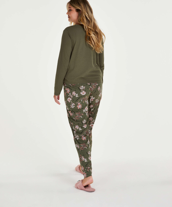Pantalón de pijama Jersey, Verde, main