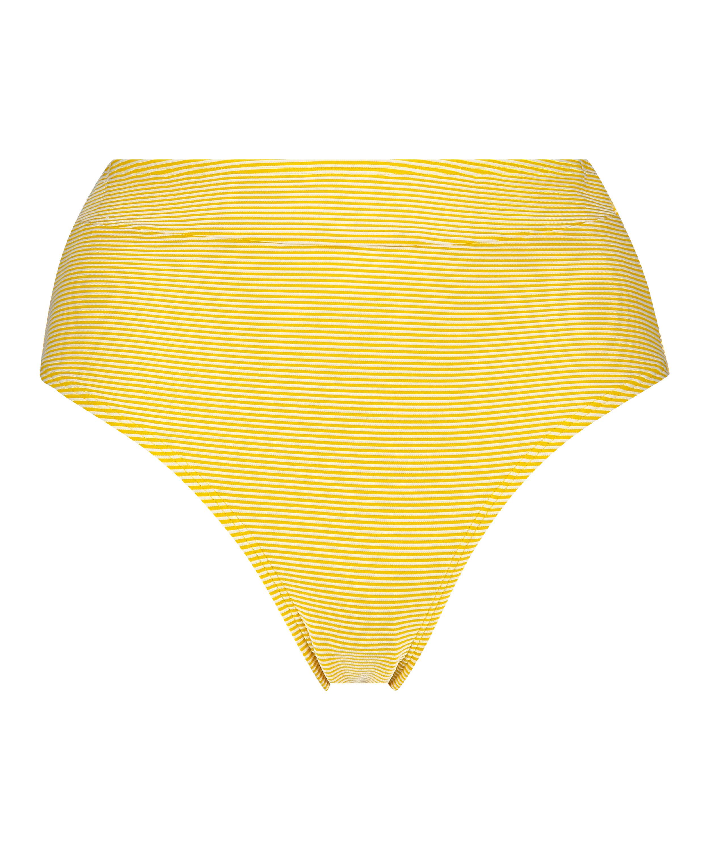 Braguita de bikini atrevida de corte alto Carmel, Amarillo, main
