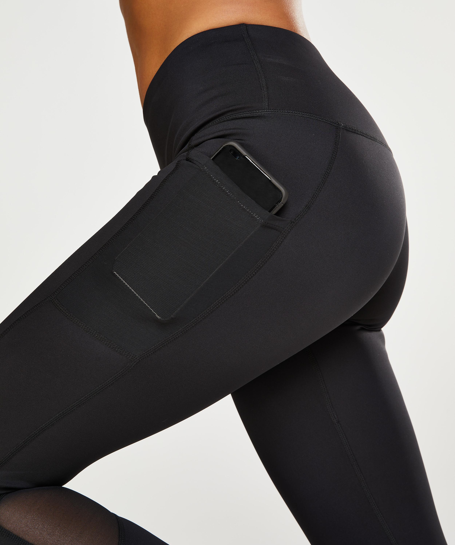 HKMX Mallas de cintura alta Oh My Squat , Negro, main