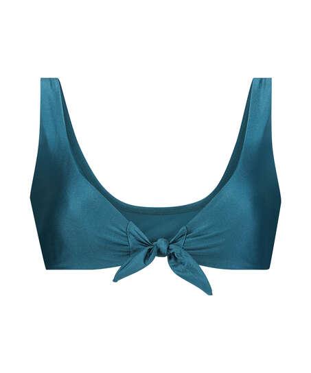 Top de bikini Triangle Brokopondo I AM Danielle, Azul