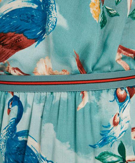 Shorts Pavo Real, Azul