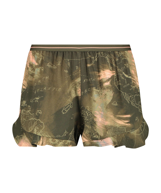 Shorts Twill World, Verde, main