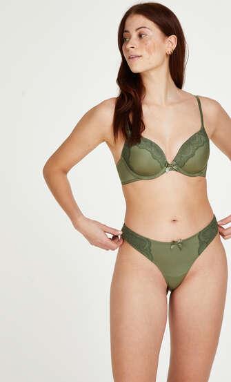 Sujetador de aros preformado Gina, Verde