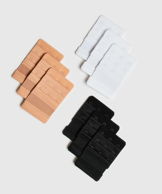 Alargador de sujetador 3 ganchos, Blanco, main