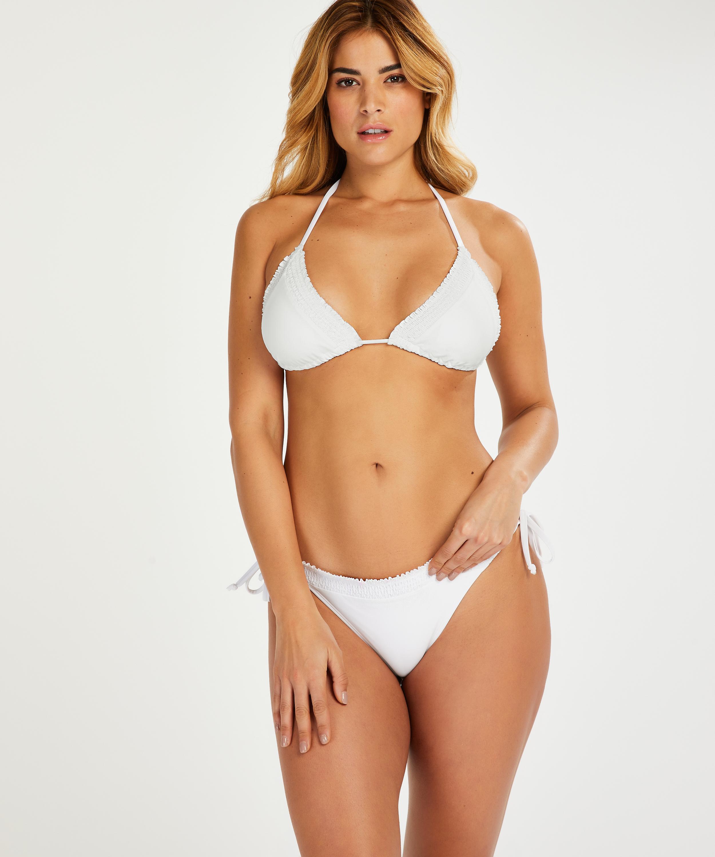 Top de bikini triángulo Remi Stitch, Blanco, main